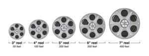 8mm Film Reel Size Chart - SFL Media Transfer